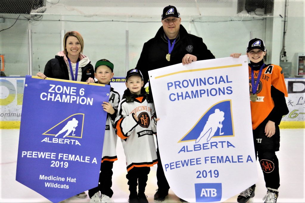 2019-03-24 Leila and the Wildcats win provincials